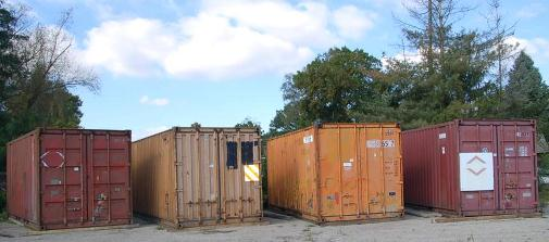 Container Lagerung